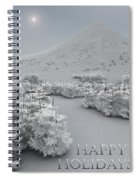 Happy Holidays Spiral Notebook