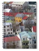 Happy Houses Spiral Notebook