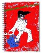 Happy Hunka Holiday Yall Spiral Notebook