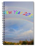 Happy New Year 2013 Spiral Notebook