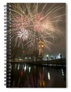Happy New Year 2014 A Spiral Notebook