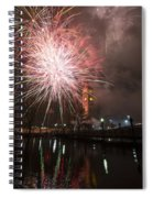 Happy New Year 2014 B Spiral Notebook