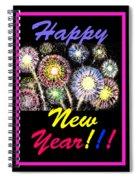 Happy New Year Spiral Notebook