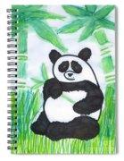 Happy Panda O.o. Spiral Notebook