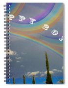 Happy Rainbows Spiral Notebook