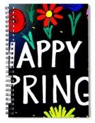 Happy Spring Spiral Notebook