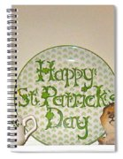 Happy St Patrick's Day  Spiral Notebook