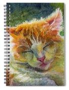 Happy Sunbathing 2 Spiral Notebook