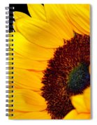 Happy Sunflower Spiral Notebook