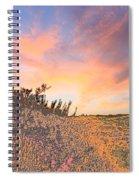 Happy Sunset Spiral Notebook