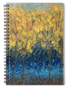 Happy Trees Spiral Notebook