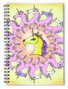 Happy Unicorns Spiral Notebook