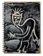 Happy Walk Spiral Notebook