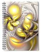 Happy Yellow Spiral Notebook