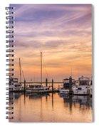 Harbor At Jekyll Island Spiral Notebook