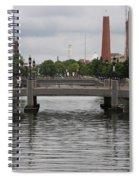 Harbor Bridge - Baltimore Harbor Spiral Notebook