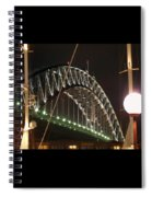 Harbor Bridge Spiral Notebook