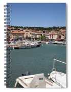 Harbor Cassis Spiral Notebook