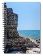 Harbor Island Ruins 1 Spiral Notebook