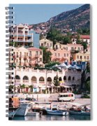 Harbor, Kalkan, Turkey Spiral Notebook