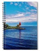 Harbor Light Spiral Notebook