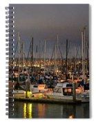 Harbor Lights Spiral Notebook