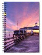 Harbor Lights Spiral Notebook