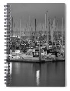 Harbor Lights II Spiral Notebook