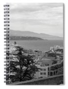 Harbor Lookout - Monte Carlo Spiral Notebook