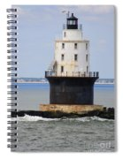 Harbor Of Refuge Light  Spiral Notebook