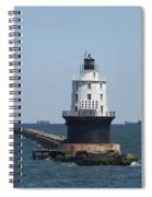 Harbor Of Refuge Lighthouse Spiral Notebook