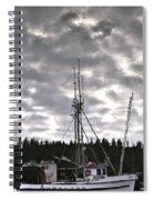 Harbor Reflection Spiral Notebook