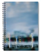 Harbor Reflections Spiral Notebook
