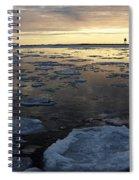 Harbor Sunset Spiral Notebook
