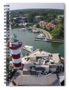 Harbor Town 1 In Hilton Head Spiral Notebook