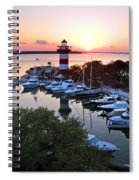 Harbor Town 4 In Hilton Head Spiral Notebook