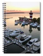 Harbor Town 5 In Hilton Head Spiral Notebook