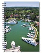 Harbor Town 6 In Hilton Head Spiral Notebook