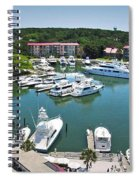 Harbor Town 7 In Hilton Head Spiral Notebook