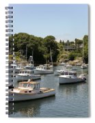 Harbor Views Spiral Notebook