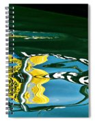 Harbour Master Abstract Spiral Notebook