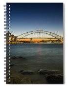 Harbour Night Spiral Notebook