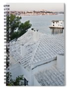 Port Mahon View With A Villa Called Venecia - Harbour Of My Dreams Spiral Notebook