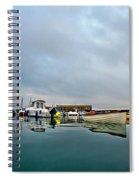 Harbour Overview 2 - Lyme Regis Spiral Notebook
