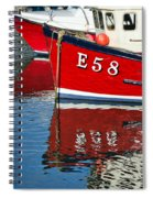Harbour Reds Spiral Notebook
