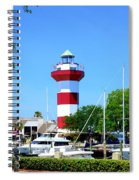 Harbour Town Lighthouse Spiral Notebook