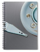 Hard Disc Spiral Notebook