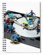 Hard Drive Maintenance Spiral Notebook