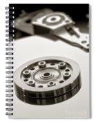 Hard Drive Spiral Notebook