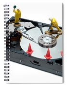 Hard Drive Repair Spiral Notebook